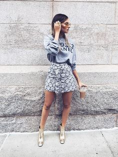 The Best Blogger Outfit Ideas Spotted on the Streets of New York via…