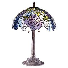 I pinned this Wisteria Table Lamp from the Dale Tiffany event at Joss & Main!