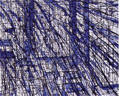 Hard Wind 2003 - Lithography Edition of 20 51 x 58 cm. (paper) 38 x 47 cm. (stone)