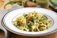 Conjuring Paris in pasta tumbled with just-cut herbs  In Paris, Marlene had beautiful meals, beautifully composed. Summer on a plate. One tangle of pasta arrived bedazzled with pale purple petals. Sheaves, the waitress allowed. So fancy, so French, so far-flung.  http://www.chicagotribune.com/dining/recipes/sc-food-0724-eskin-squash-20150720-column.html