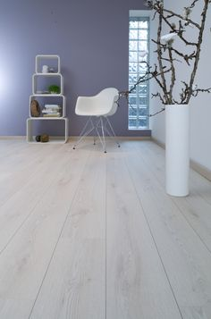 Available at WCT Design Flooring. Grey Flooring, Bedroom Flooring, Plank Flooring, Berry Alloc, Light Oak Floors, Blue Painted Walls, Upstairs Bedroom, Blue Rooms, Living Room Inspiration