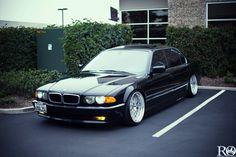 very fond childhood memories! Stance e38 | BMW E38 Long VIP Style