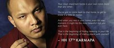 Your most important home is your own mind - HH 17th Karmapa pic.twitter.com/waNafcR7Xh