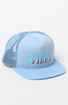 Hooked on Miami Camp Vibes Mesh Trucker Hat that I found on the PacSun App