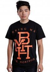 Bring Me The Horizon - Orange Logo - T-Shirt