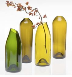 DIY: Sanding glass. I keep finding bottle cutting tutorials, but nothing on sanding the bottle so it can actually be used. This site shows you how to do it!