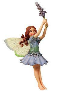 Lavender-Fairy-Ornament-Cicely-Mary-Barker-faerie-figurine-Miniature-Garden