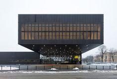 black Beautiful Architecture, Innsbruck, Interior Design, Schools, School Ideas, Outdoor Decor, Buildings, Interiors, Home Decor