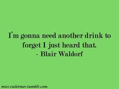 blair waldorf quotes   Tumblr