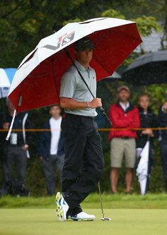 Rory McIlroy of Northern Ireland waits on the 4th green during the third round of The 143rd Open Championship at Royal Liverpool on July 19, 2014 in Hoylake, England.