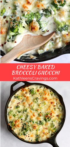 Baked Gnocchi, Gnocchi Recipes, Meal Ideas, Food Ideas, Yummy Yummy, Yummy Food, Main Dishes, Side Dishes, Vegetarian Recipes