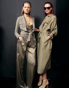 Personal Style: The New Fashion Basics for Spring New Fashion, Spring Fashion, Fashion Basics, Khaki Coat, Fashion Articles, Basic Style, Personal Style, Duster Coat, Denim