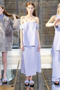 Can't help it. This might be trendy and edgy, but not my cup of tea, so to speak... By Whistles F/W 2014