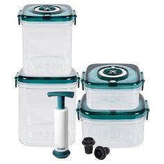 NuWave 24003 11-Piece Flavor-Lockers Storage Set - 652185240032