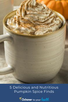 Fall is in the air, which can only mean one thing: Pumpkin spice is on the brain. But this seasonal treat can be anything but healthy. From lattes and cheesecakes to cookies and spreads, pumpkin-spiced products can pack in multiple days' worth of added sugar. But no worries. We've got you covered with these five pumpkin-spice finds that will satisfy your cravings for this favorite autumn flavor without wreaking nutritional havoc. Healthy Pumpkin, Autumn, Fall, Cheesecakes, Pumpkin Spice, Spreads, Cravings, Brain, Spices