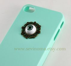 harry potter blue evil eye Iphone 4 Case Cover ~ OMG I LOVE this!!!! but I don't have an iPhone... lol