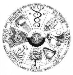 Pagan Wheel of the Year-The Big 8 Holidays