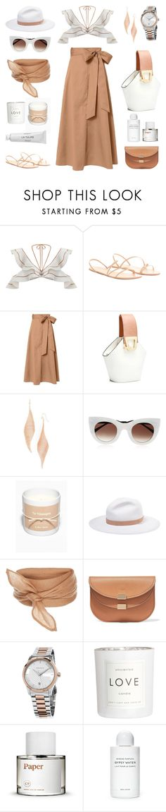 """Unbenannt #1076"" by fashionlandscape ❤ liked on Polyvore featuring TIBI, Jules Smith, Thierry Lasry, rag & bone, Chloé, Gucci, H&M and Byredo"