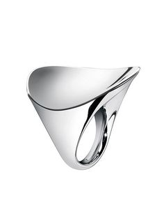 Simple and elegant silver ring by Calvin Klein, wonderful.