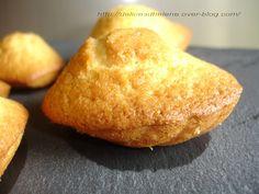 MADELEINES A L'HUILE D'OLIVE Olives, Cornbread, Biscuits, Comme, Ethnic Recipes, Desserts, Food, Madeleine Recipe, Envy
