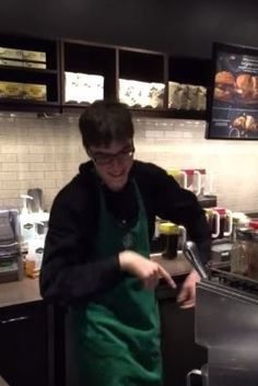 Dancing Barista: Toronto Starbucks Worker With Autism Has Serious Dance Moves