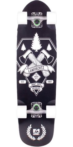 Landyachtz Dinghy Axes Skateboard Complete 2013. Landyachtz Dinghy Axes - Amazing mini cruiser board that belongs in everyone's quiver (if you like fun).