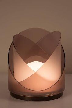 Model LT300 Glass Table Lamp by Carlo Nason for Mazzega 3