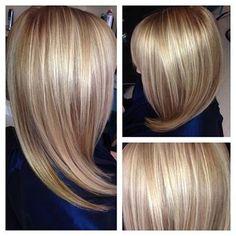 Gorgeous multi-dimensional blonde hair.