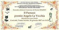 Caffè Letterari: Concorso Il Parnaso- Premio Angelo LaVecchia: i vi...