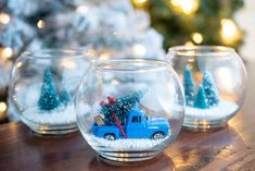 This year, skip the expensive ornaments and lighting and make your own Dollar Tree Christmas decorations. Just add a little elbow grease to make these Christmas DIY projects shine. Christmas Crafts For Adults, Homemade Christmas Gifts, Christmas Projects, Holiday Crafts, Dollar Tree Christmas, Christmas Diy, Christmas Decorations, Christmas Truck, Primitive Christmas