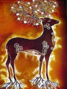 """""""The Mayan calendar sign called Manik means """"The Hand That Heals"""" and the power animal for Manik is the Deer."""" The Magical Spirit Deer ~ spirit of love, union with nature. Herne The Hunter, Power Animal, Nature Spirits, Deer Art, Animal Totems, Winter Solstice, Wiccan, Spirit Animal, Drawings"""