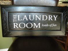 laundry room - loads of fun