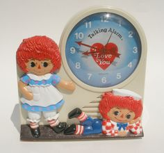 I had this and come to think of it the talking alarm was kinda creepy!!