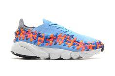 60bc12e38dec Nike Air Footscape Woven Motion University Blue Prize Blue-Atomic Orange