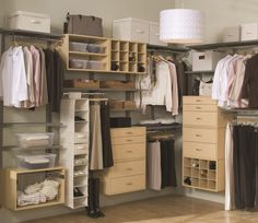 Impressive Walk in Wardrobe Ideas: Interesting Walk In Wardrobe Design With Oak Unfinished Materials Also Cool Crafts Shelves And Clothing Storage System With Built In Drawer In Apartment Room Designs Lovable Walk In Closet ~ dalatday.com Furniture Inspiration