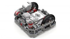 "LEGO MOC MOC-2901 ""Fllying Tortoise"" EV3 Robot - building instructions and parts list."
