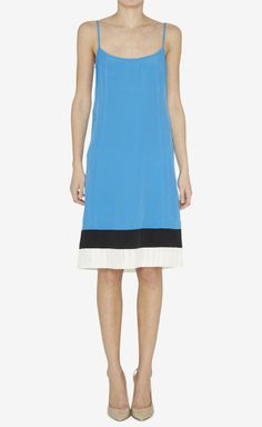 Narciso Rodriguez Blue, Black And White Dress