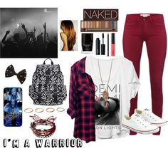 """Demi lovato concert outfit I made on polyvore"" -last pinner"