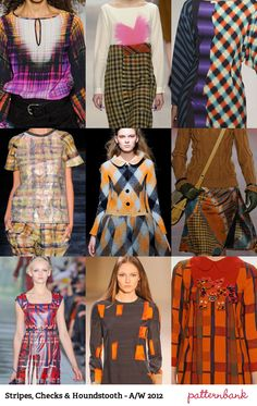 Catwalk Print Trends   Autumn/Winter 2012 Part 1 trend forecasts catwalks