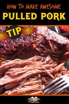 Best Pulled Pork Every Time. Pellet grilling pork makes the most delicious BBQ pulled pork recipe! Use these tips with your favorite smoker recipes for pork, and have delicious BBQ meat every time. #pork #BBQ #smokerrecipe Pulled Pork Smoker Recipes, Bbq Pulled Pork Recipe, Pellet Grill Recipes, Pork Roast Recipes, Bbq Pork, Bacon Recipes, Grilling Recipes, Grilling Tips, Bbq Meat