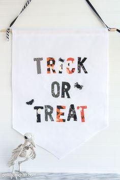 Trick or Treat Halloween Banner