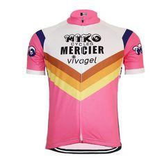 MERCIER Miko Retro Cycling Jersey | Freestylecycling.com Mountain Bike Shoes, Cycling Jerseys, Cycling Bikes, Cycling Equipment, Cycling Tops, Anjou Velo Vintage, Buy Bike, Road Bike Women, Shirts