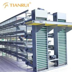 Layer Equipment, Layer Equipment direct from Qingdao Farming Port Animal Husbandry Machinery Co. in CN Used Farm Equipment, Poultry Equipment, Chicken Cages, Hen Chicken, Types Of Poultry, Cages For Sale, Hen Farm, Poultry House, Portable Chicken Coop
