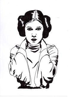 Princess Leia by Julie Parkinson