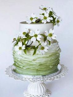 Великолепные зеленые Торты на craftsy