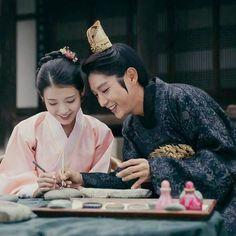 Lee Ji Eun and Lee Joon Gi as Wang So in SBS drama Moon Lovers Scarlet Heart Ryeo season Moon Lovers Quotes, Iu Moon Lovers, Moon Lovers Drama, Korean Tv Shows, Korean Actors, Korean Dramas, Korean Guys, Korean Star, Korean Celebrities