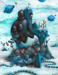 """Bluto's Lament"" by Chris Brett, via Behance"