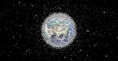 Space debris is a major problem in orbit around Earth, and a new visualization shows just how crowded it is above the planet.