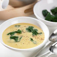 Receita Sopa de grão com espinafres por Equipa Bimby - Categoria da receita Sopas