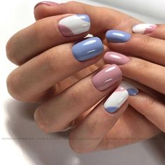 Nail art is a very popular trend these days and every woman you meet seems to have beautiful nails. It used to be that women would just go get a manicure or pedicure to get their nails trimmed and shaped with just a few coats of plain nail polish. Shellac Nail Polish Colors, Cute Nails, Pretty Nails, Cute Shellac Nails, Acrylic Nails, Coffin Nails, Summer Shellac Nails, Summer Nails 2018, Glitter Nails